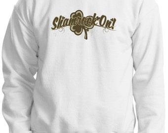Shamrock On   Crewneck Sweatshirt 18000-HS-171