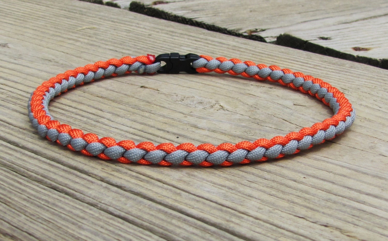 braided paracord necklace or bracelet by
