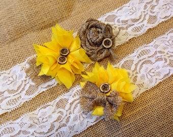 Sunflower Garter