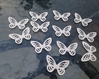 Butterfly Confetti - 50pc (shimmering pearl)