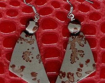 Earrings - Chohua Jasper, Sterling Silver