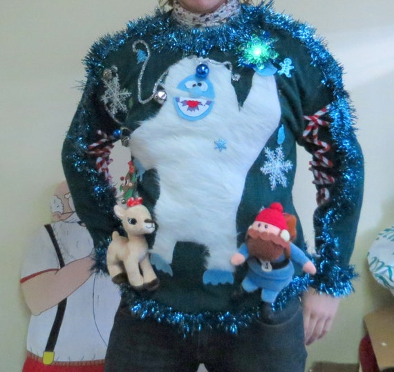Custom 3 D Furry Fuzzy Bumble The Abominable By