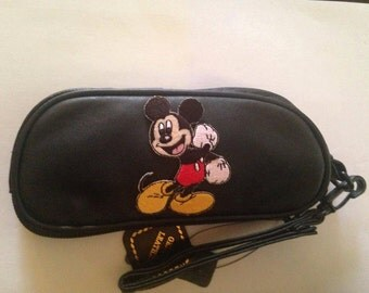 Mickey Mouse Leather SunGlass Case Sunglasses