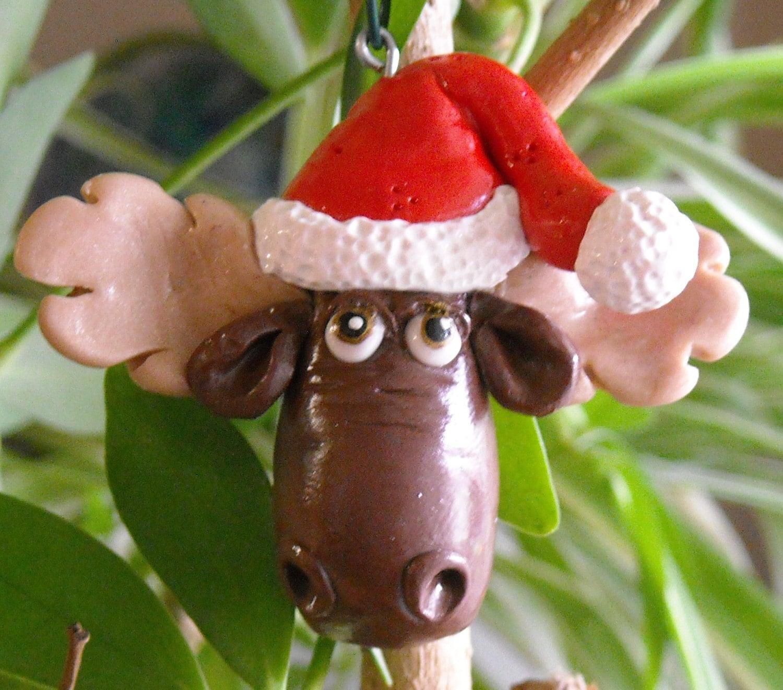 Everybody Loves Christmas Moose Christmas Tree Ornament