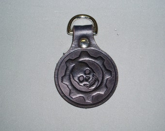 Gears of War leather geeky key fob