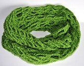 Crochet Infinity Scarf, Green Cowl, Infinity Cowl, Crochet Cowl, Spring Scarf, Spring Cowl, Green Infinity Scarf, Womens Lace Cowl