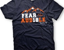 Fear the Audible - Peyton Manning inspired tshirt - Denver Broncos T-shirt