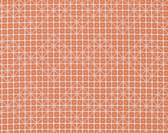 SALE Botanique Domino in Apricot Fabric by Joel Dewberry for Free Spirit