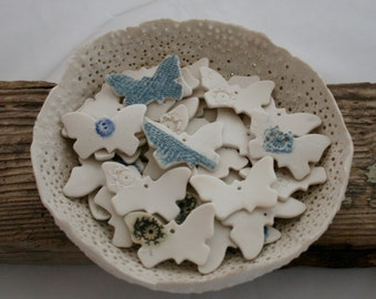 One Hand Made Porcelain Butterfly