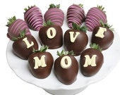Chocolate covered strawberries (PERSONALIZED)