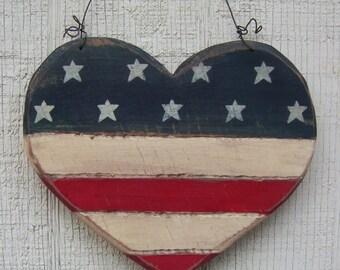 Primitive Heart Flag