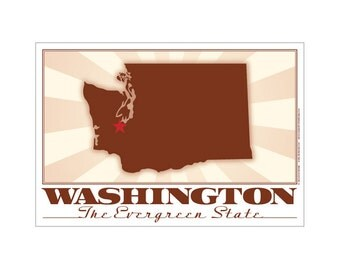 Washington State Poster