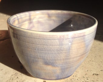 Small Ceramic Pot (Purple)