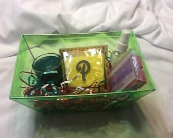 Monogram Gift Basket