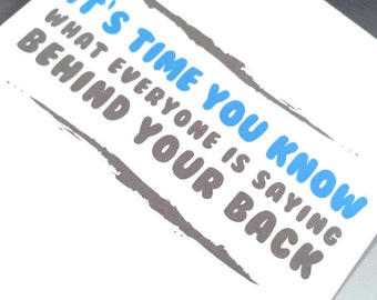 Nice Ass Adult Card - Funny Greeting Card