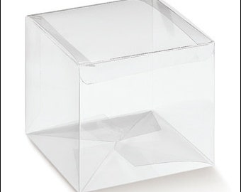 clear favor boxes ideal for DIY wedding h