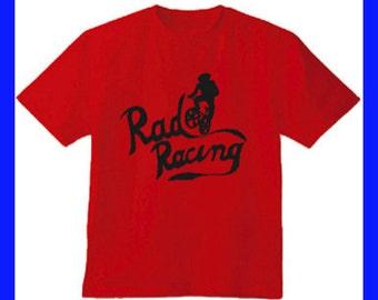 Rad Racing 1986 BMX Movie Cru Jones Red T-Shirt