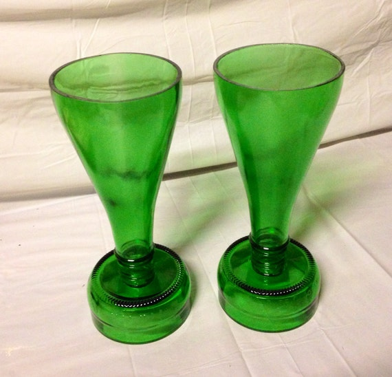 Items similar to wine bottle wine glasses or champagne for Making glasses from bottles