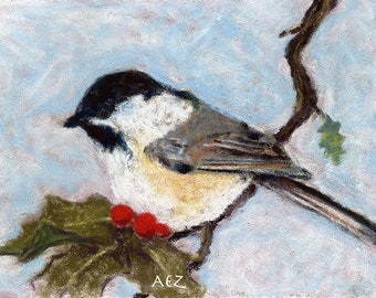 Winter Tweet Chickadee