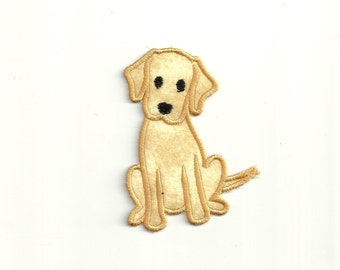Labrador Puppy Patch, any Color! Custom Made! AP33