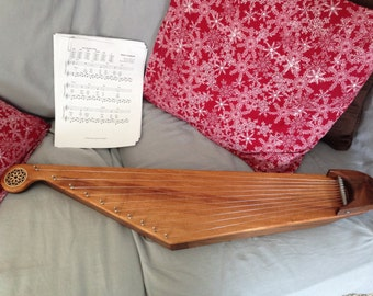 Kantele/ Lap Harp / - Unique 10 string Finnish instrument known as a zither or lap harp.