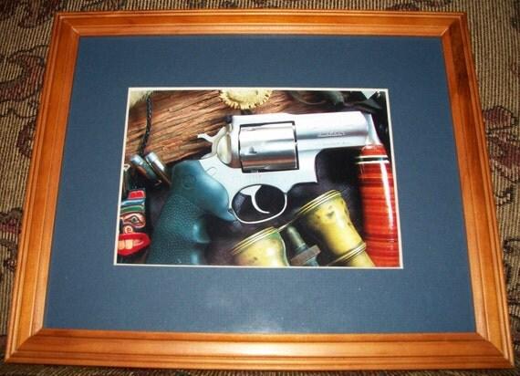 Still Life Photo Of A Ruger Alaskan 44 Magnum