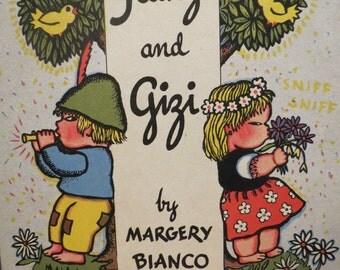 Franzi and Gizi Book Bound Up Side Down 1941