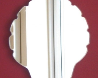 Shell Mirror - 5 Sizes Available. Also available in packs of 10 Small Shells for Craftwork and Decorative Use