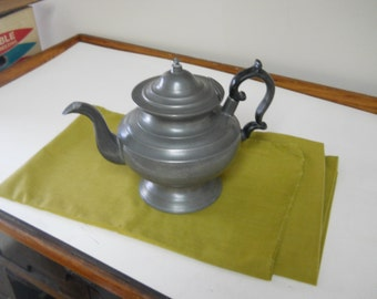 Classic Style Pewter Teapot