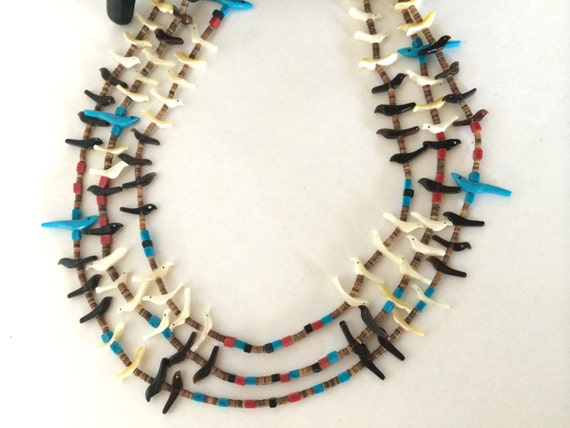 American fetish native necklace