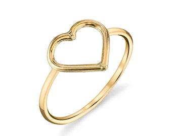 14kt Gold Filled Heart Ring