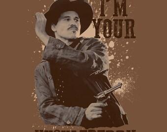 I'm Your Huckleberry Gun Shirt