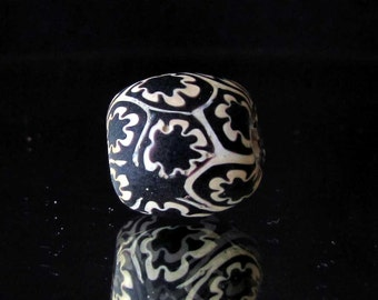 handmade colorful indonesian glass bead (20)
