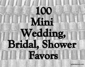 Personalized Wedding favor Glitter Nail Polish minis Custom Bridal Shower Baby Shower Favors vegan nail polish