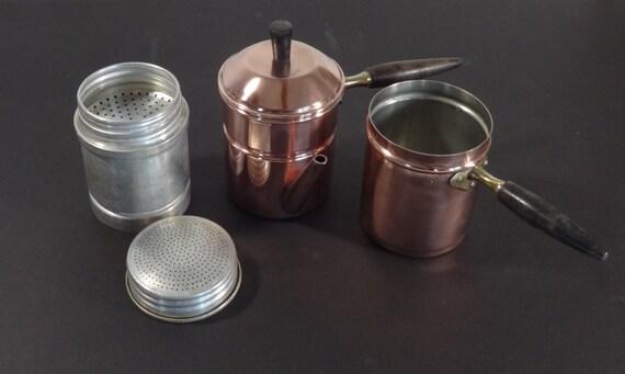Neapolitan Flip Coffee Pot ~ Vintage b m portugal douro flip neapolitan coffee