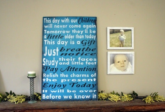 Large Custom Sign Wood Sign Home Decor Wallhanging Childrens Sign