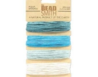 Aqua shades Hemp Twine 1mm (20 lb. test)