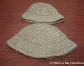 Crochet Safari hat - size baby and child