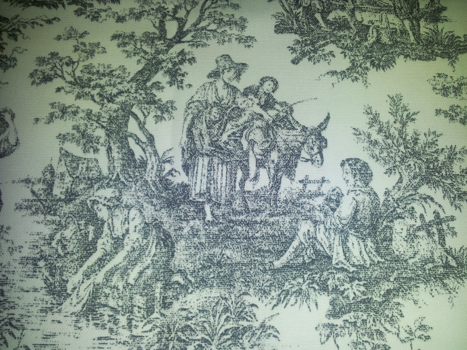 toile fabric patterns
