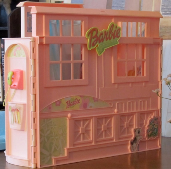 Vintage Barbie Doll House Rare And Adorable By