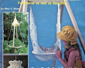 Macrame Baby Cradle Pattern Baby Patterns