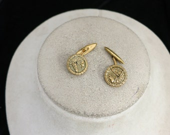 Vintage Lighthouse Cuff Links