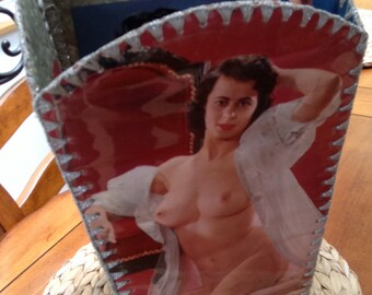 Vintage Rare One-Of-A-Kind Bin of Pin-Up Girl Images