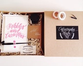 Calligraphy Starter Kit // back order - ships out january 20th!