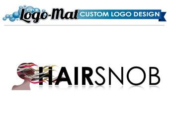 Salon Logo, Hair Logo, Logo Design, Custom Logo Design, Custom Logo, Business Logo, Business Logo Design