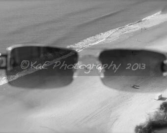 "Beach Through My Eyes -  5"" x 7""  Print"