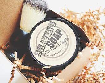 Mens Shaving Kits, Shave Kit Gift Set, mens gifts, gift for Dad's , shave kit, shave soap, groomsmen gifts, shaving soap, shaving brush,