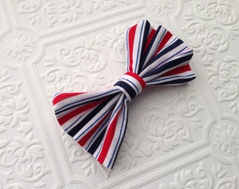 The Royal Stripes Bow Tie