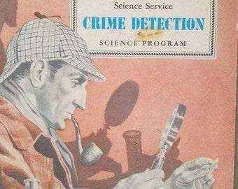1972 Science Service Crime Detection Science Program