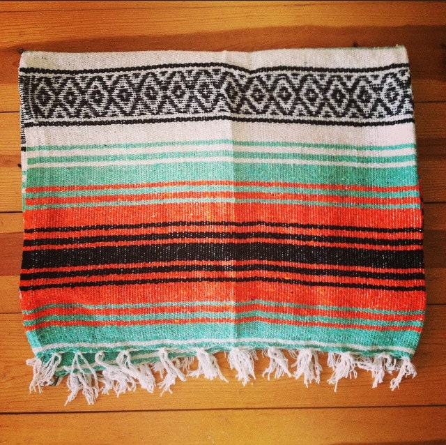 Mexican Rug Images: Mexican Falsa Yoga Pilates Blanket